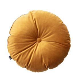 Candy Dot Pillow | Cognac/Rust