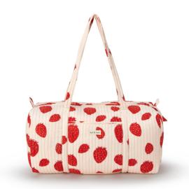 Travelbag   Pink Strawberry