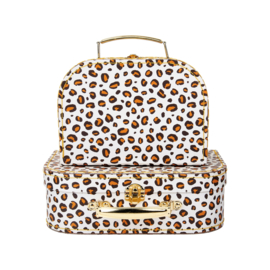 Leopard Suitcase | Set of 2