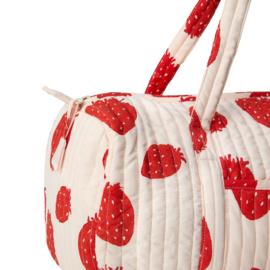 Beachbag | Pink Strawberry