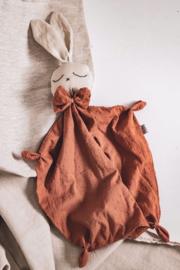 Bunny Cuddle Cloth   Cognac