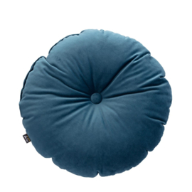 Candy Dot Pillow | Grey Blue