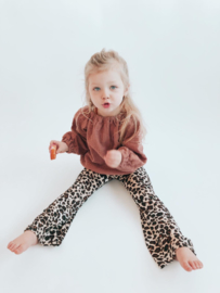 Leopard Flared Legging