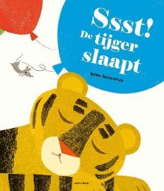 Sst! De tijger slaapt (prentenboek) 3+