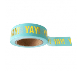 Washi tape mint Yay