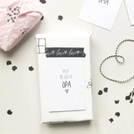 Mini kaartje - Voor de liefste opa