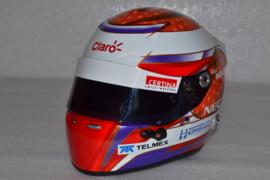 Kamui Kobayashi Sauber Ferrari helmet 2012 season