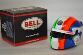 Antonio Giovinazzi Alfa Romeo helmet 2019 season