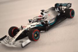 Lewis Hamilton Merecedes AMG Petronas MGP-W10 race car German Grand Prix 2019 season