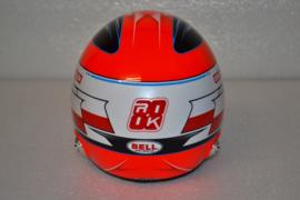 Robert Kubica Alfa Romeo helmet 2020 season