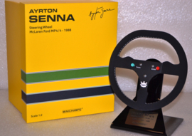 Ayrton Senna Mc Laren Honda MP4-4 steering wheel 1988 season
