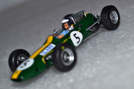 Jim Clark Lotus Typ 33 Race Car British Grand Prix 1965 Season