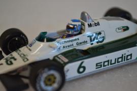 Keke Rosberg Williams Ford FW08 Race Car World Champion Edition 1982 Season