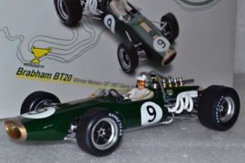 Denny Hulme Brabham Ford BT24 Race Car Monaco Grand Prix 1967 Season
