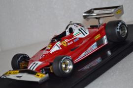 Niki Lauda Ferrari 312T2 race car 1977 season