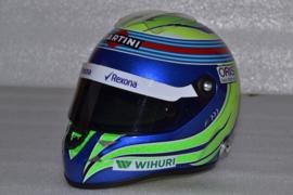 Felipe Massa Williams Mercedes helmet 2016 season