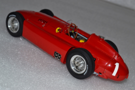 Juan Manual Fangio Scuderia Ferrari D50 Race Car British Grand Prix 1956 Season