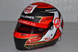 Kevin Magnussen HAAS Ferrari helmet 2019 season