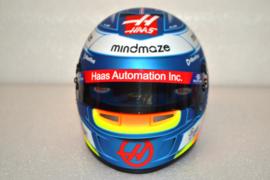 Romain Grosjean HAAS F1 Team helmet 2020 season