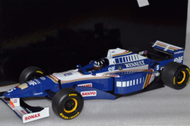 Damon Hill Williams Renault FW18 race car World Champion 1996 season
