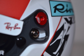 Charles Leclerc Suderia Ferrari mini helmet 2021 season