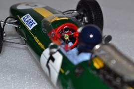 Jim Clark Lotus Ford Typ 33 race car British Grand Prix 1965 season