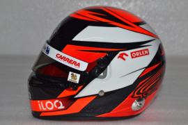 Kimi Raikkonen Alfa Romeo Orlen helmet 2020 season