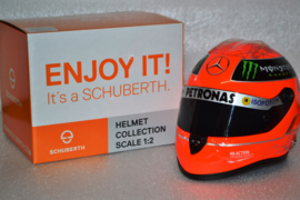 Michael Schumacher Mercedes AMG Petronas helmet Brazillian Grand Prix 2012 season
