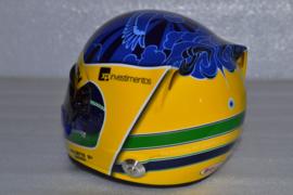 Sergio Sette Camara Carlin Motorsport helmet 2019 season