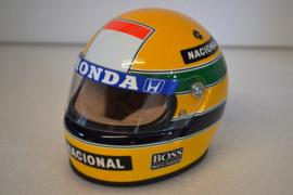 Ayrton Senna Mc Laren Honda Helmet 1988 season
