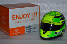 Mick Schumacher Prema Racing GP3 helmet 2018 season