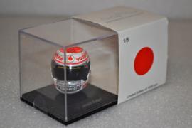 Jenson Button Vodafone Mc Laren Mercedes helmet, Japanese Grand prix 2011 season