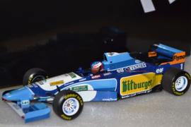 Michael Schumacher Benetton Renault B195 race car Monaco Grand Prix 1995 season