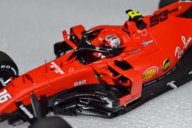 Charles Leclerc Scuderia Ferrari SF90 race car Italian Grand Prix 2019 season