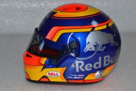 Alexander Albon Scuderia Torro Rosso helmet 2019 season