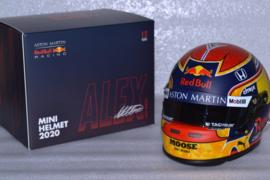 Alexander Albon  Red Bull Honda helmet 2020 season