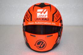 Nikita Mazepin Haas Ferrari helmet 2021 season