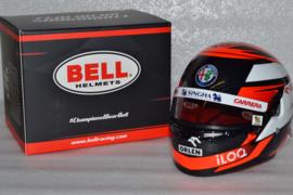 Kimi Raikkonen Alfa Romeo helmet 2020 season