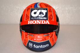 Pierre Gasly Alpha Tauri Honda helmet 2021 season