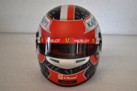 Charles Leclerc Scuderia Ferrari helmet 2019 season
