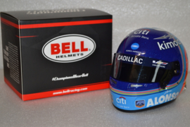 Fernando Alonso Cadillac helmet 24 hours of Daytona 2019 season