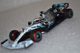 Lewis Hamilton Mercedes AMG Petronas MGP-W10 race car German Grand Prix 2019 season