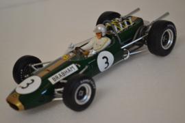 Jack Brabham Brabham Ford BT19 race car World Champion 1966 season