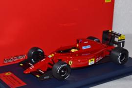 Alain Prost Ferrari F1 641 race car French Grand Prix 1990 season