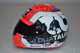 Pierre Gasly Alpha Tauri Honda helmet 2020 season