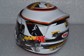 Stoffel Vandoorne Mc Laren Honda Helmet Spa Francorchamps Grand Prix 2017 season