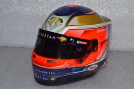 Jean Eric Vergne Techeetah Formula E Team Helmet 2019 Season