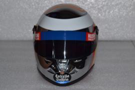 Carlos Sainz Mc Laren Renault Chrome Helmet 2019 Season