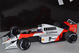 Alain Pros Mc Laren Honda MP4-5 race car World Champion 1989 Season