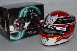Lewis Hamilton Mercedes AMG Petronas Helmet 2019 season